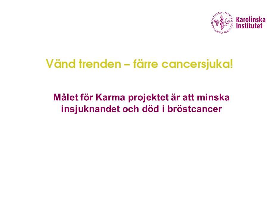 Hur genomförs Karma Insamling av information Identifikation av kvinnor med hög risk Intervention