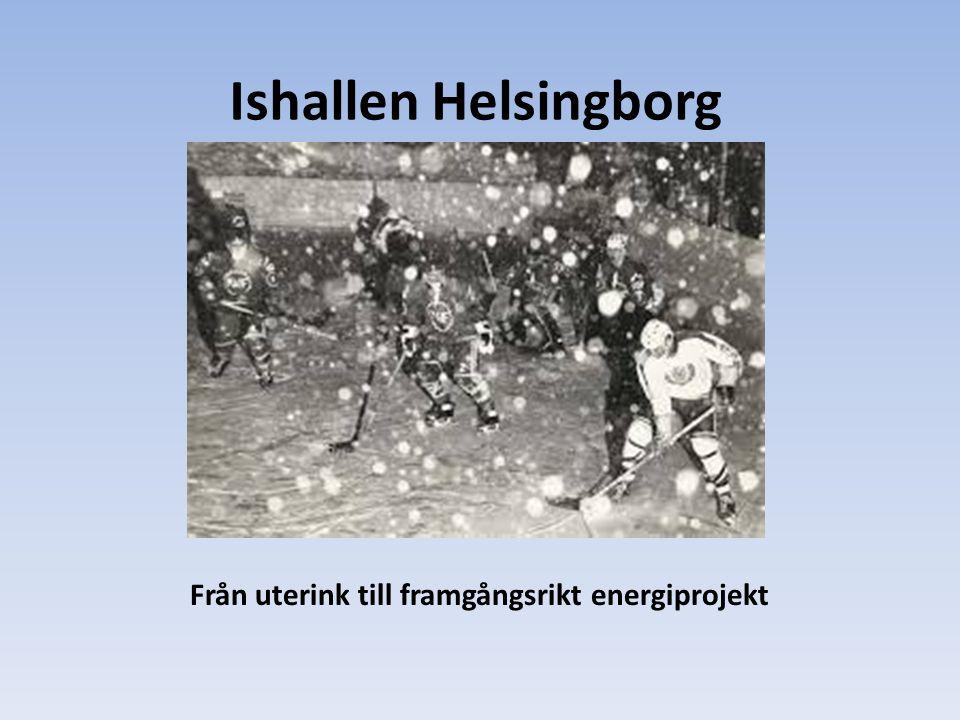 Ishallen Helsingborg Från uterink till framgångsrikt energiprojekt