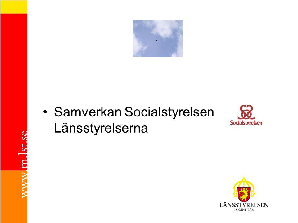 Samverkan Socialstyrelsen Länsstyrelserna