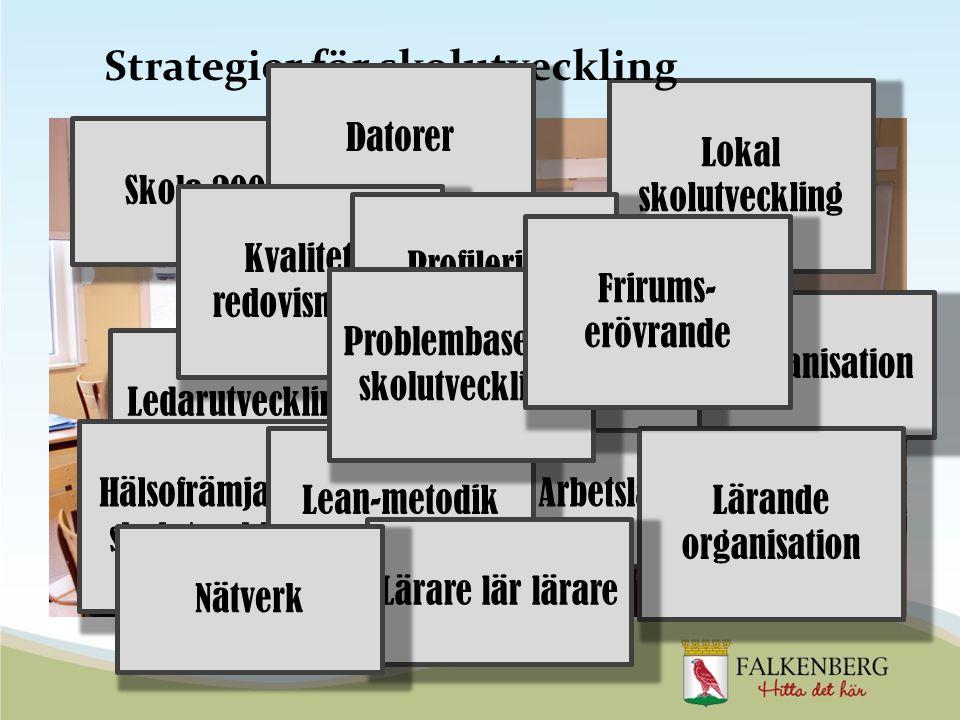 Strategier för skolutveckling