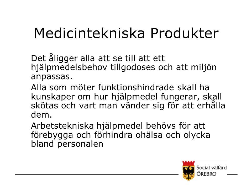 Medicintekniska Produkter