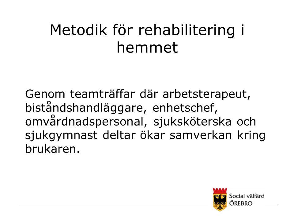 Metodik för rehabilitering i hemmet