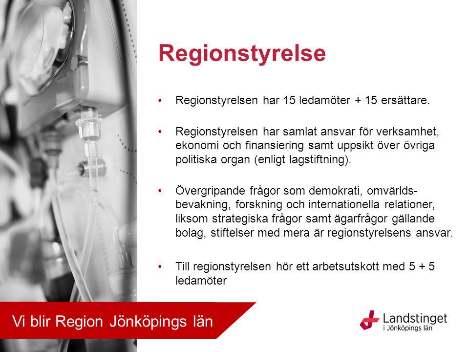 Regionstyrelse Vi blir Region Jönköpings län