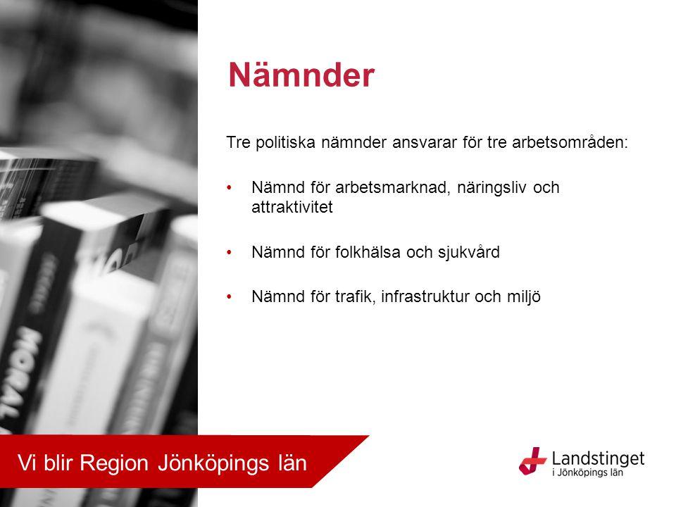 Nämnder Vi blir Region Jönköpings län