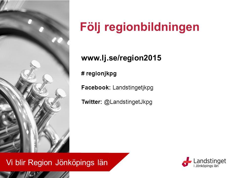 Följ regionbildningen