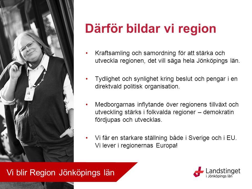 Därför bildar vi region