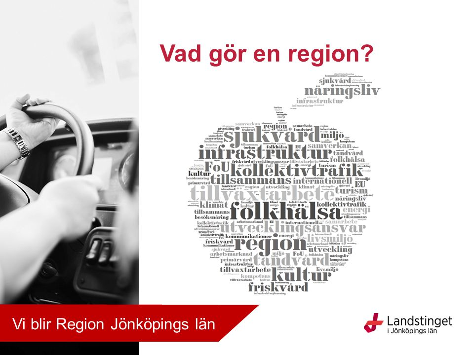 Vad gör en region Vi blir Region Jönköpings län