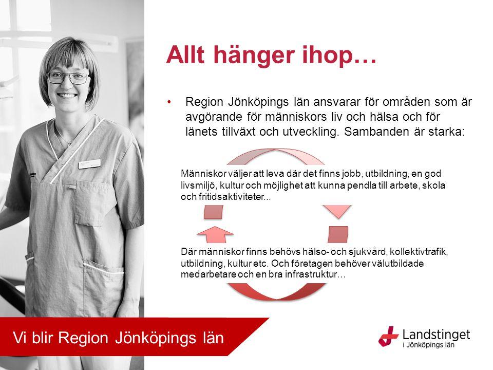 Allt hänger ihop… Vi blir Region Jönköpings län