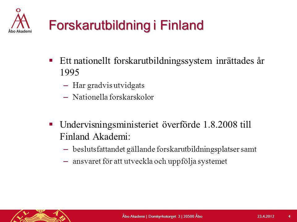 Forskarutbildning i Finland