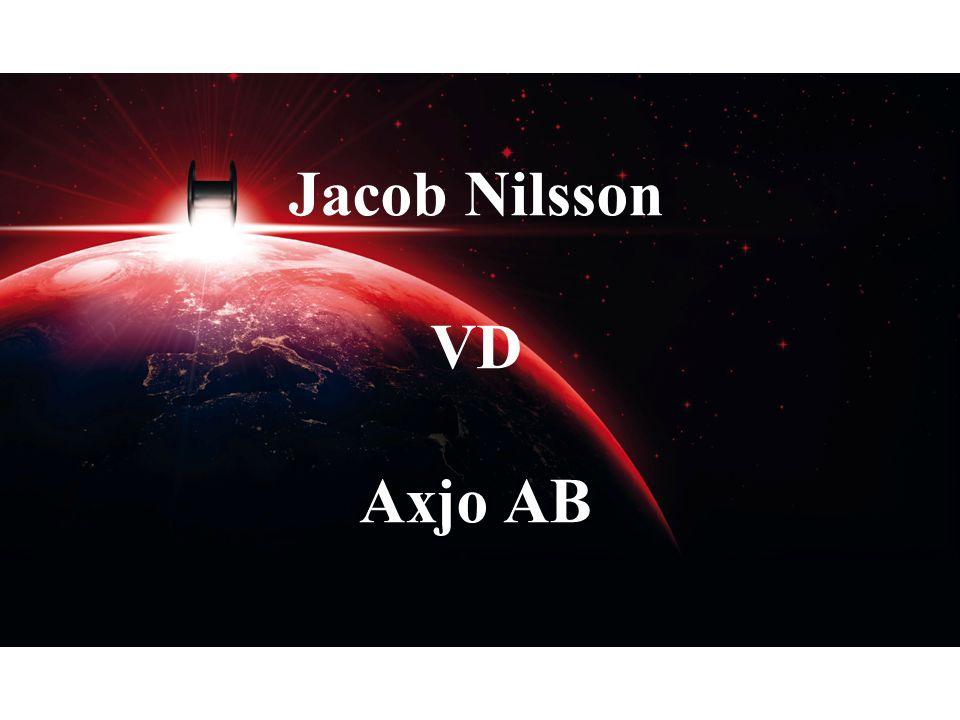 Jacob Nilsson VD Axjo AB