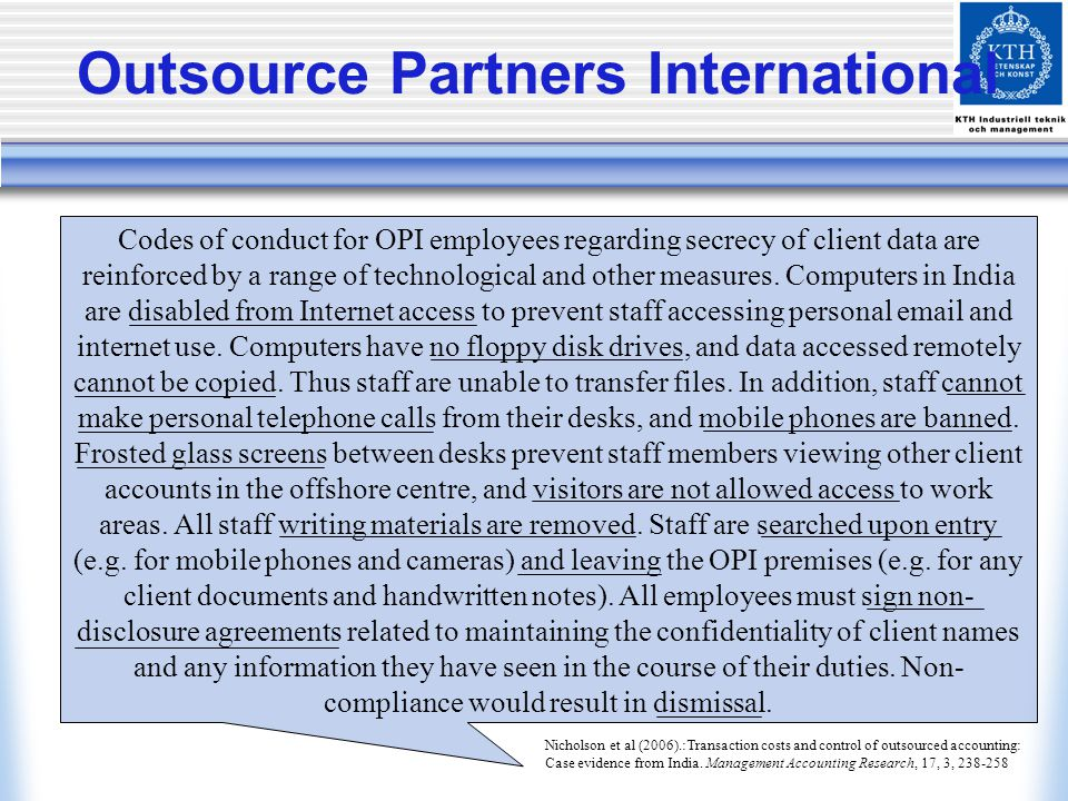 Outsource Partners International