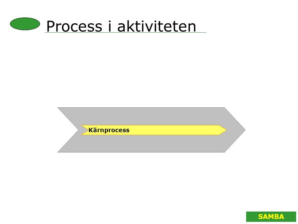 Process i aktiviteten Kärnprocess