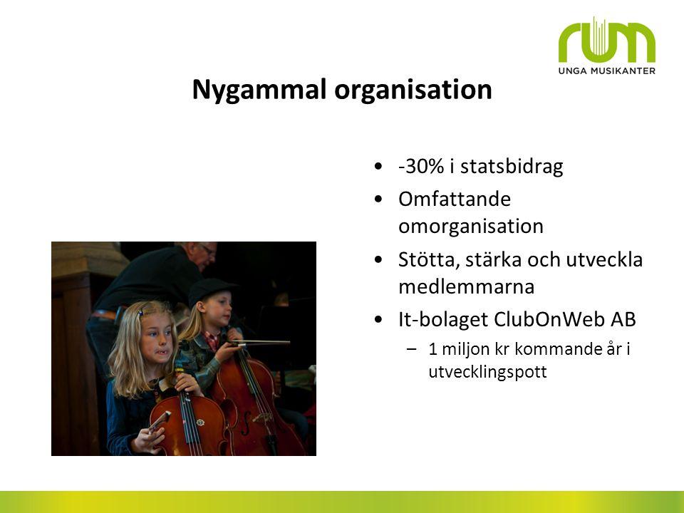 Nygammal organisation