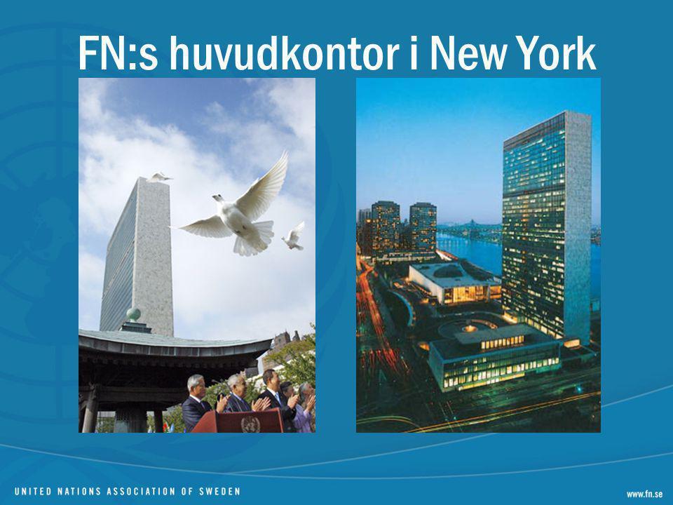 FN:s huvudkontor i New York