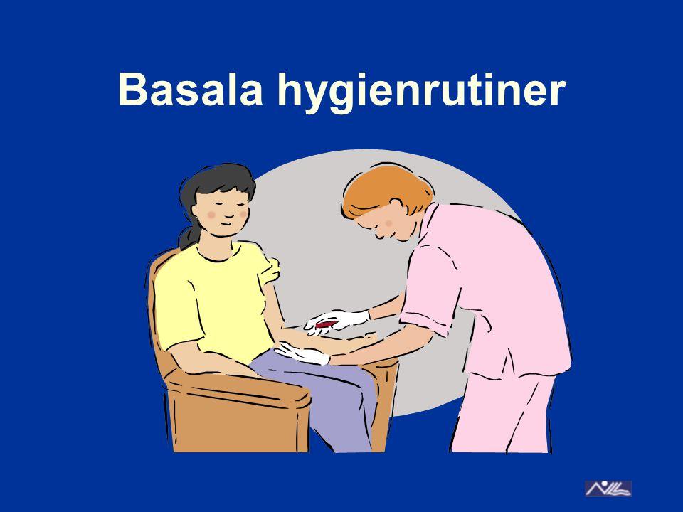 Basala hygienrutiner