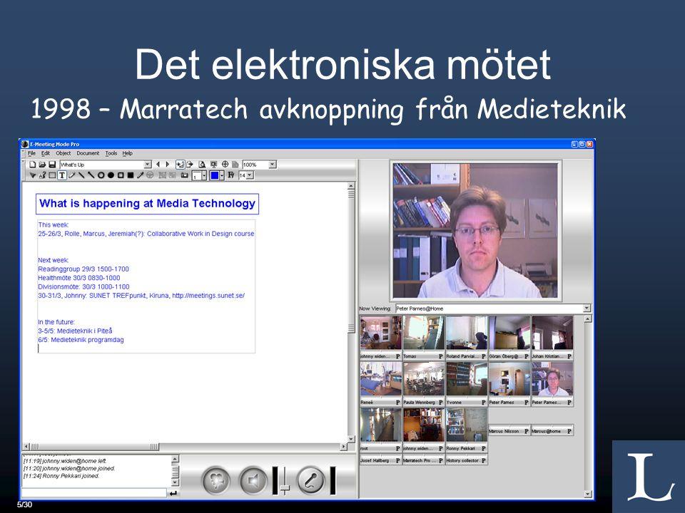 Det elektroniska mötet