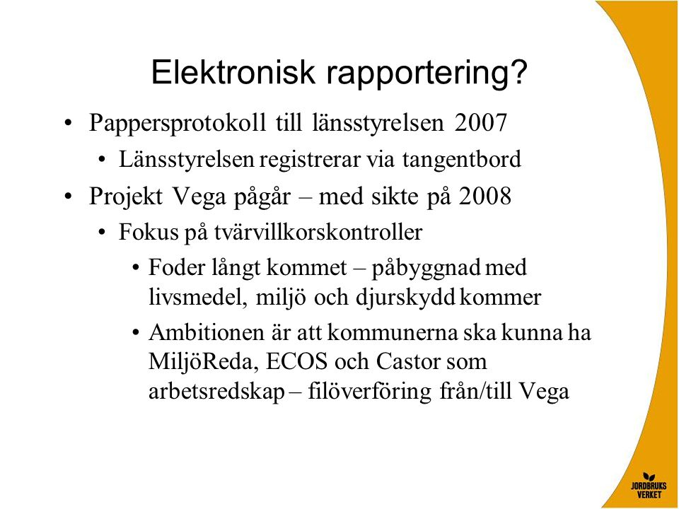 Elektronisk rapportering