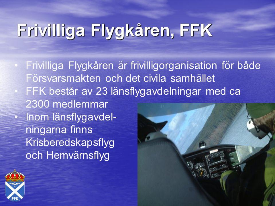 Frivilliga Flygkåren, FFK