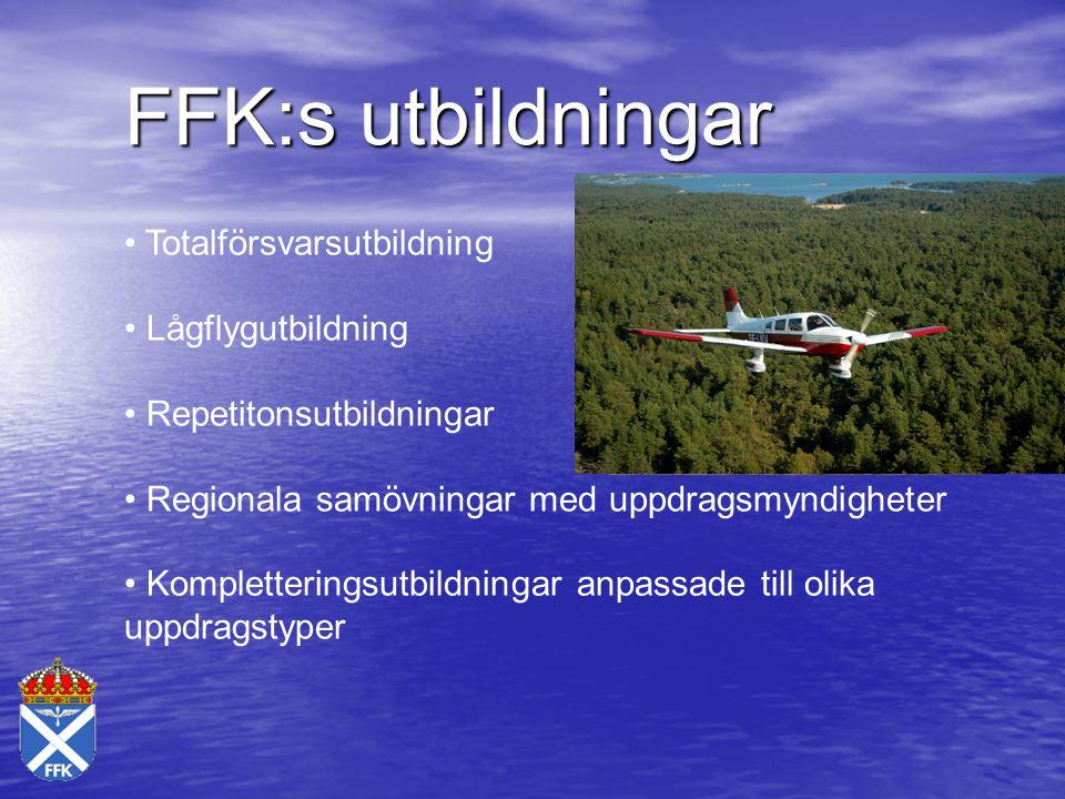 FFK:s utbildningar Totalförsvarsutbildning Lågflygutbildning