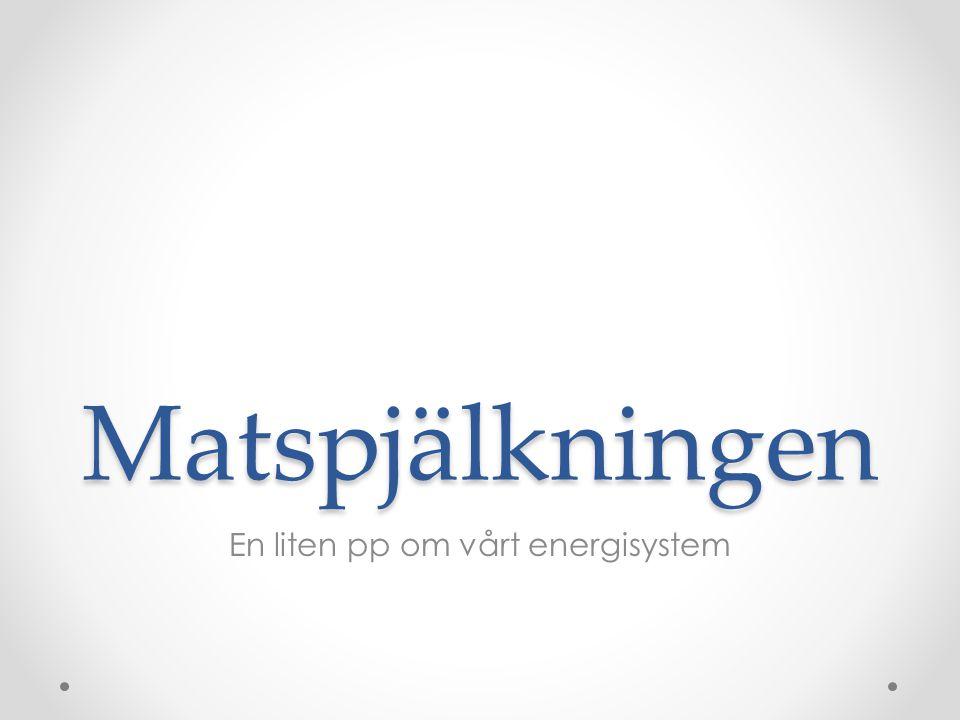 En liten pp om vårt energisystem