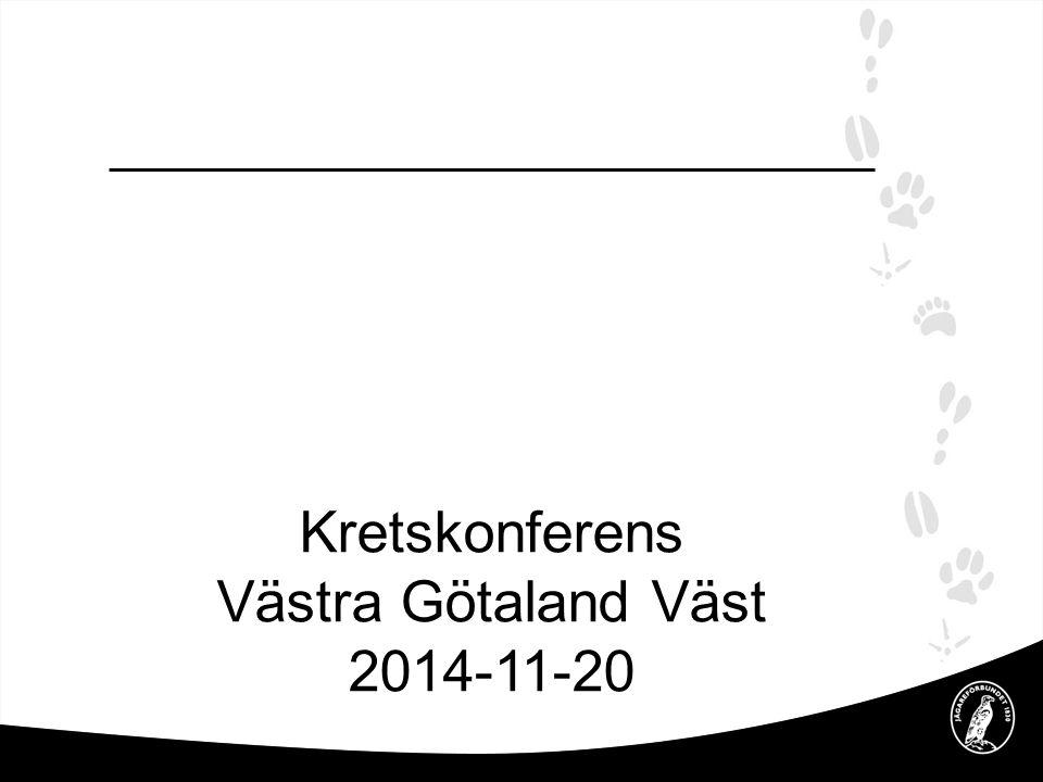 2017-04-08 Kretskonferens Västra Götaland Väst 2014-11-20