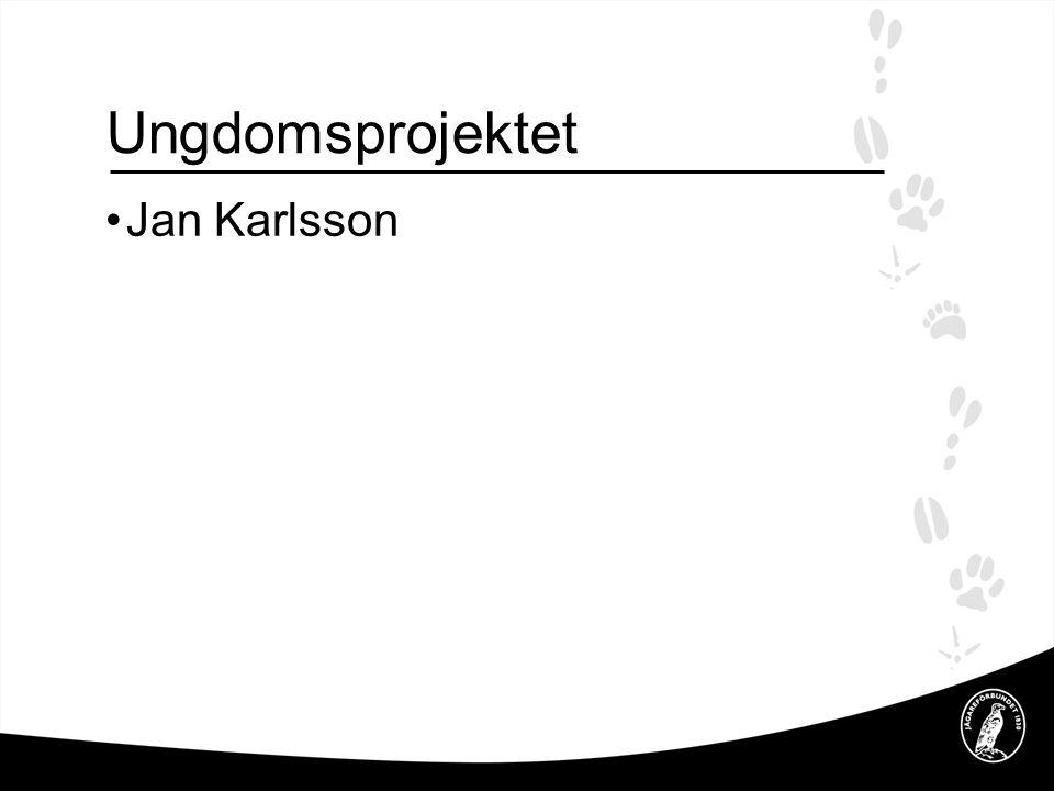 Ungdomsprojektet Jan Karlsson