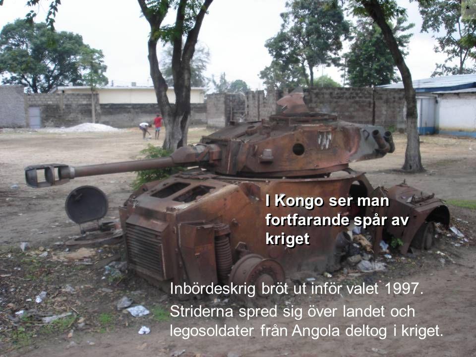 I Kongo ser man fortfarande spår av kriget