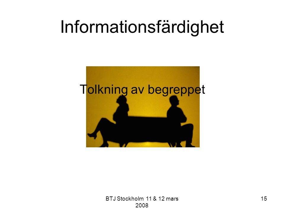 Informationsfärdighet