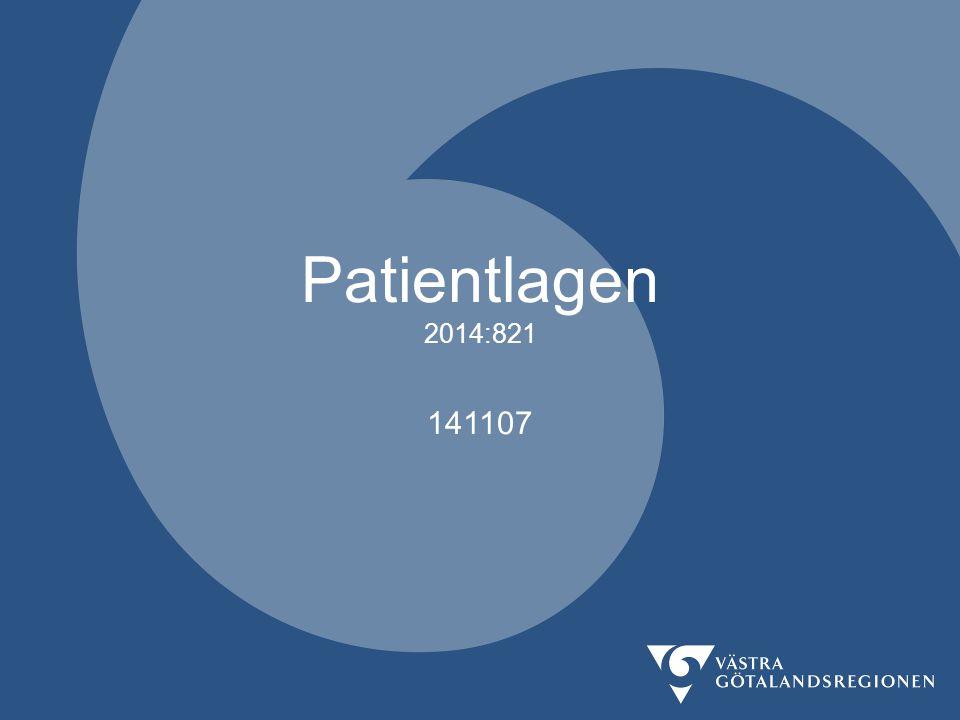 Patientlagen 2014:821 141107