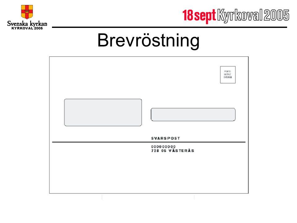 Brevröstning Socialdemokraterna Svea Svensson 321023-1224 Valle Valman