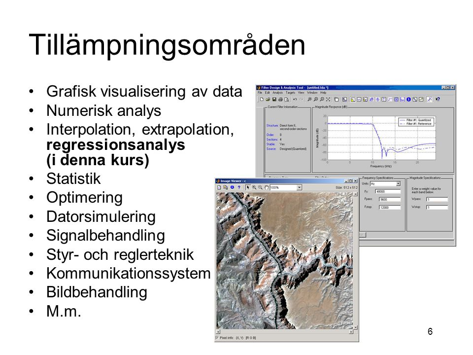 F2. programmeringsteknik och Matlab