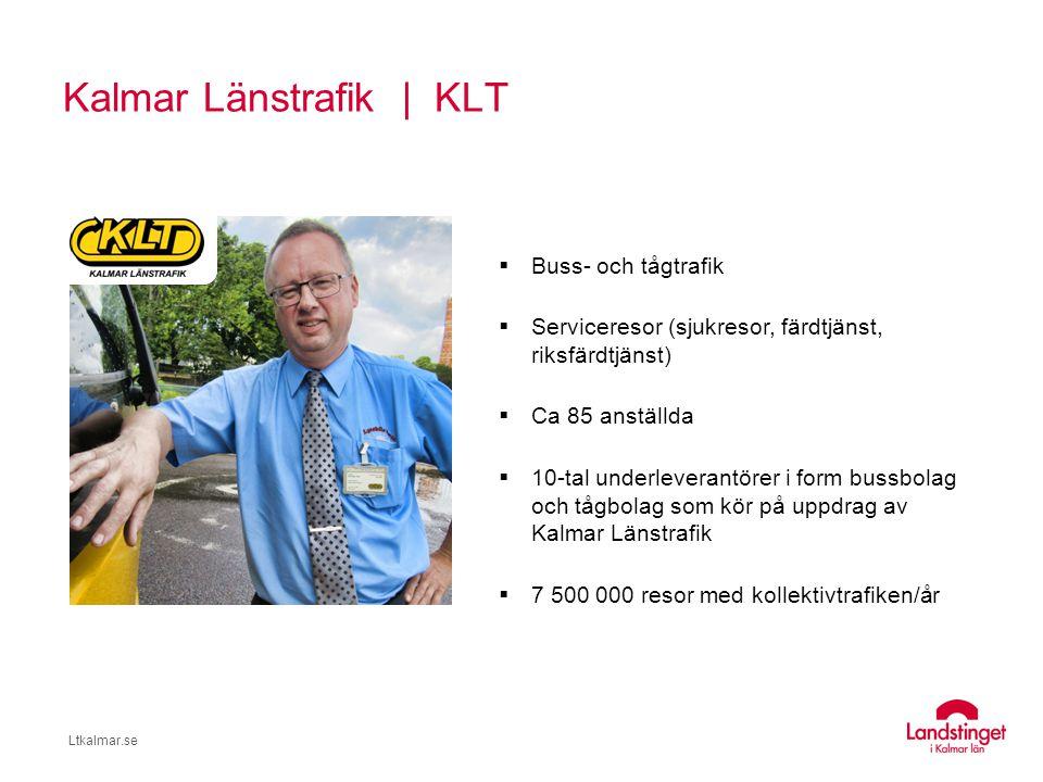 Kalmar Länstrafik | KLT