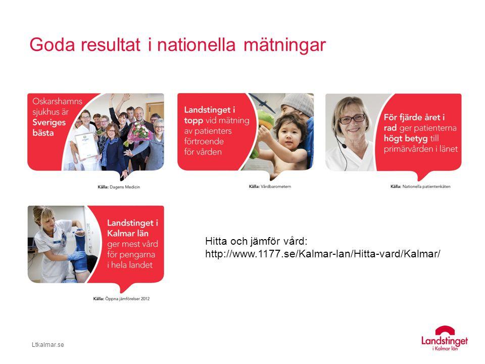 Goda resultat i nationella mätningar