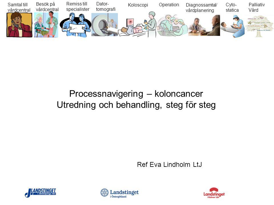 Processnavigering – koloncancer