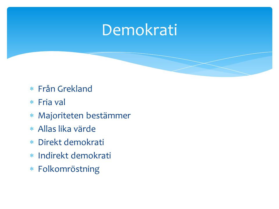 Demokrati Från Grekland Fria val Majoriteten bestämmer