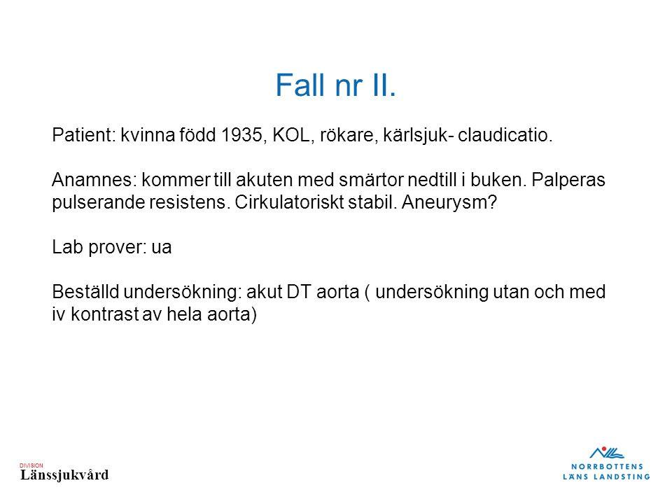 Fall nr II.