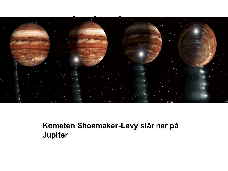 Jupiter komet Kometen Shoemaker-Levy slår ner på Jupiter 14