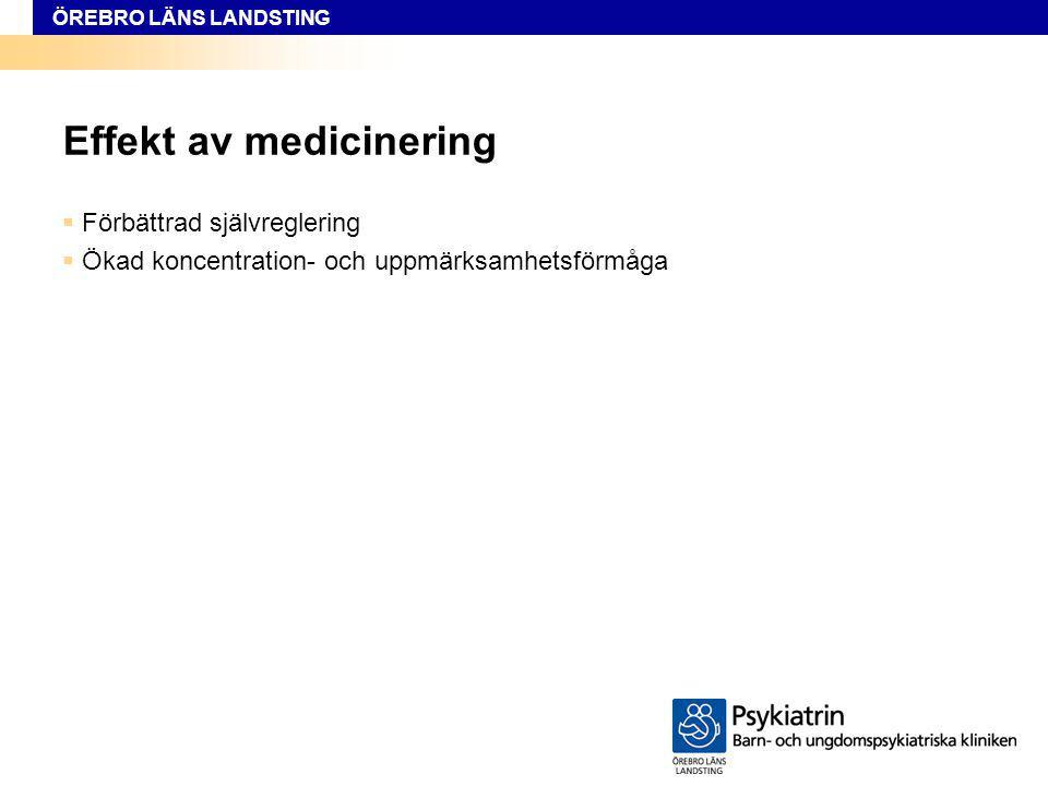 Effekt av medicinering