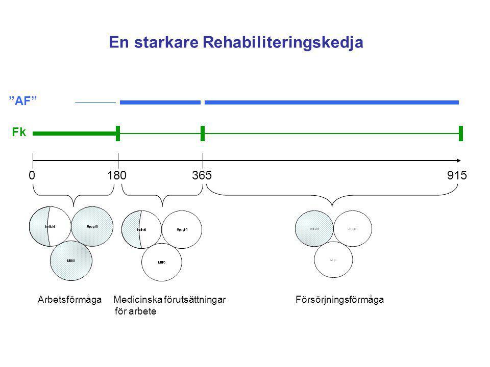 En starkare Rehabiliteringskedja