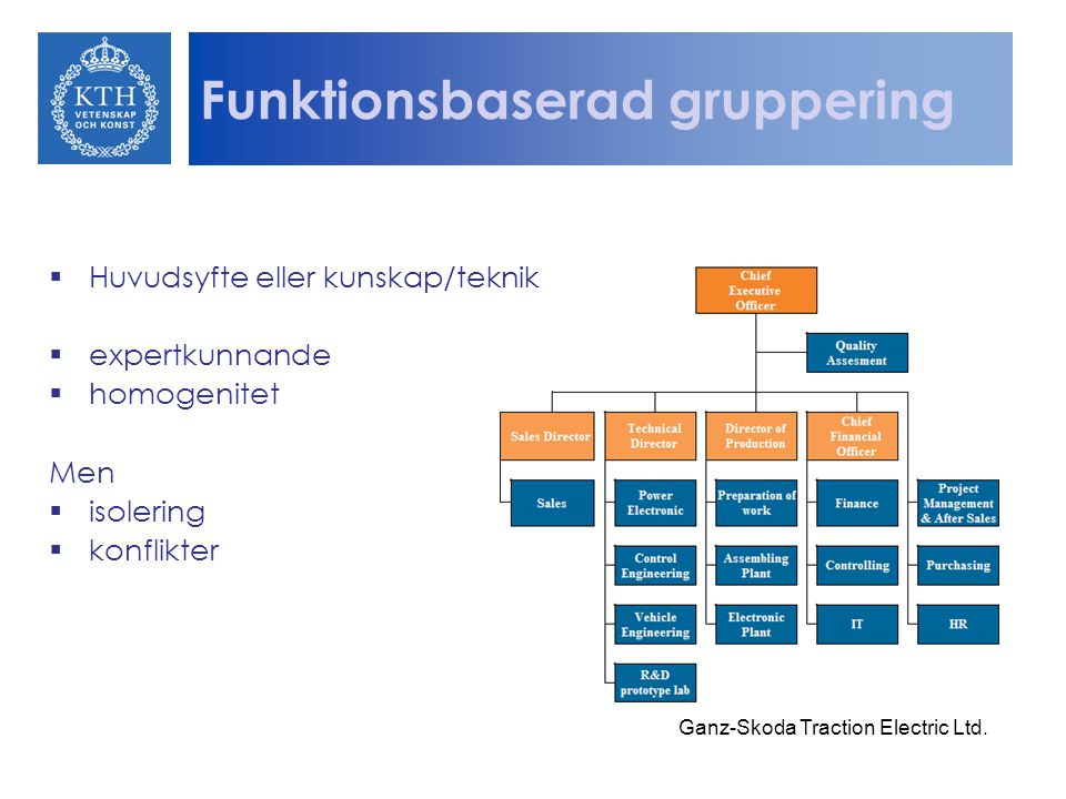 Funktionsbaserad gruppering