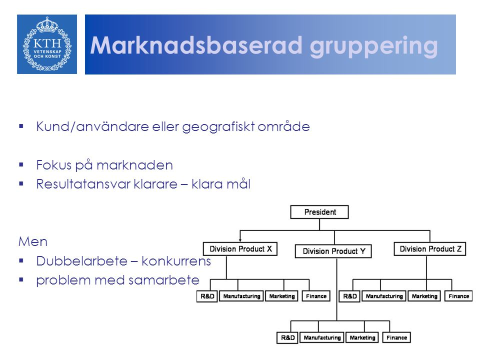 Marknadsbaserad gruppering