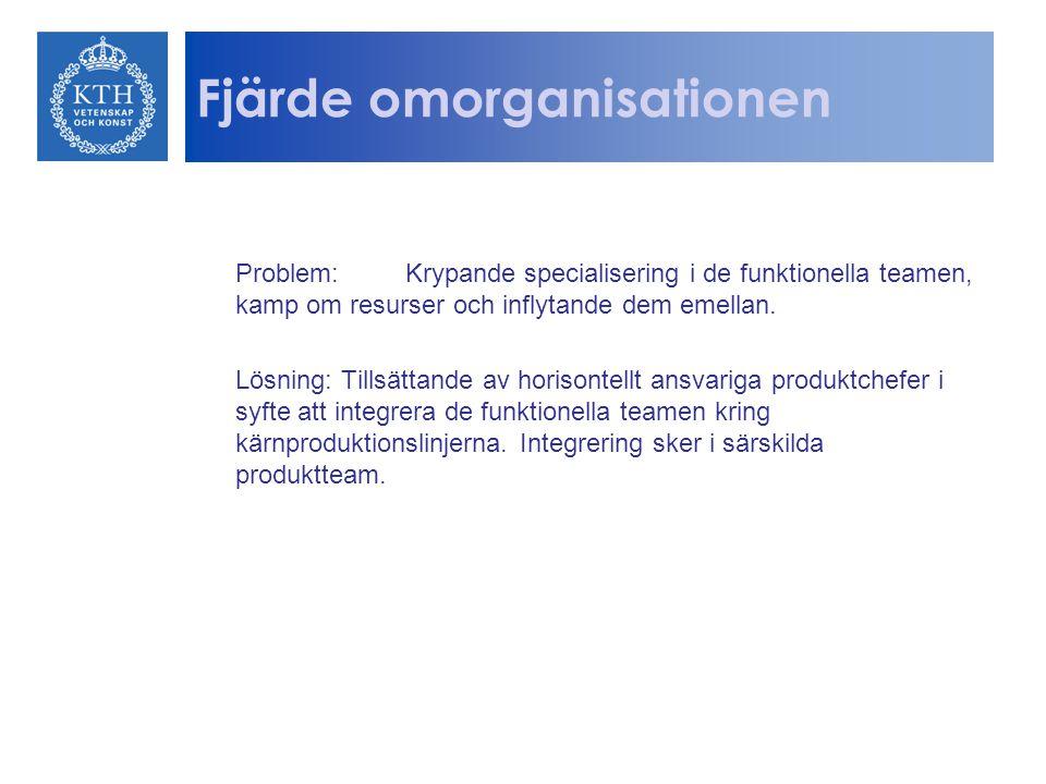 Fjärde omorganisationen
