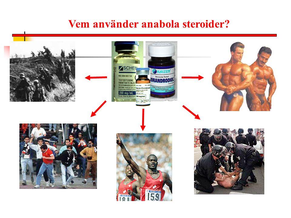 Vem använder anabola steroider