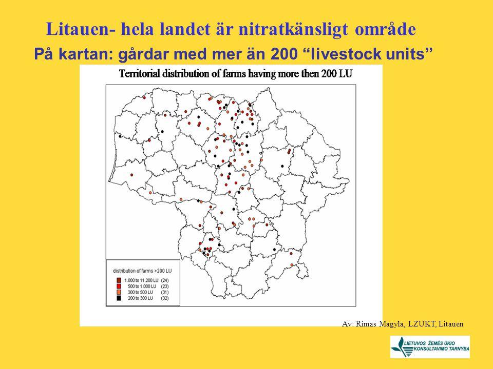 På kartan: gårdar med mer än 200 livestock units