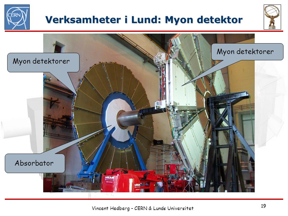 Verksamheter i Lund: Myon detektor