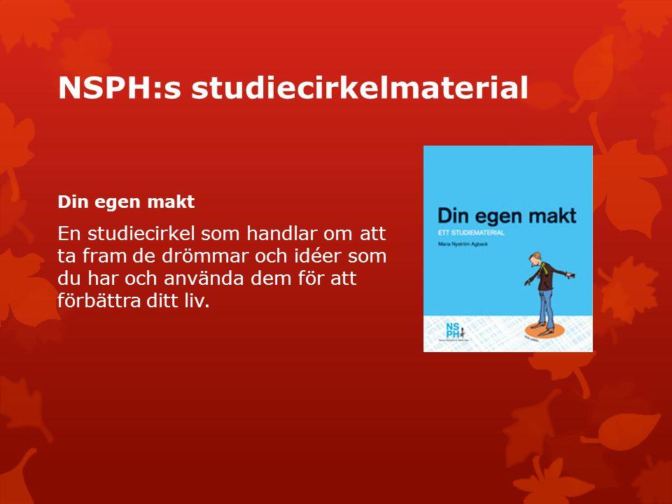 NSPH:s studiecirkelmaterial