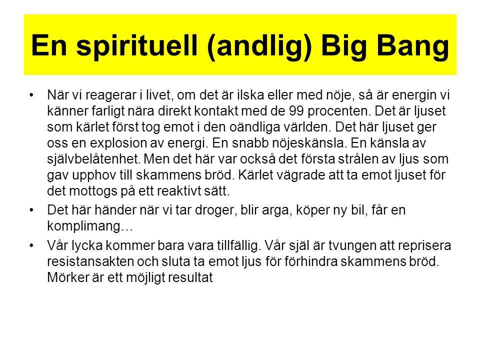En spirituell (andlig) Big Bang