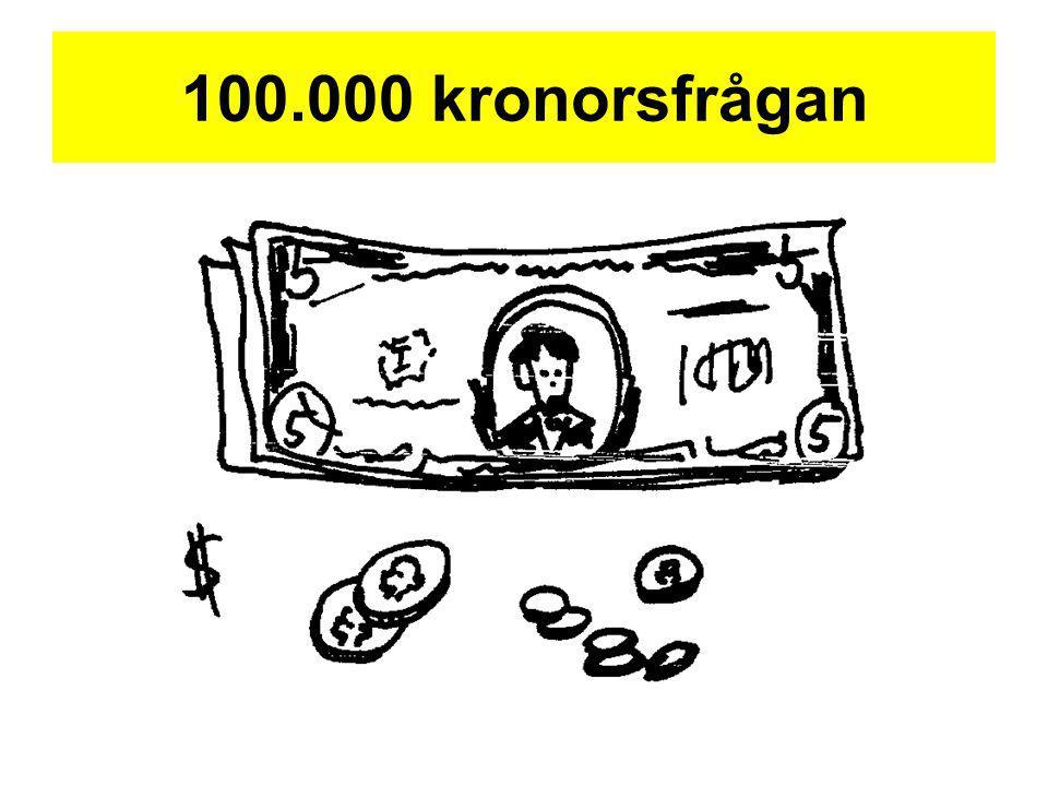 100.000 kronorsfrågan