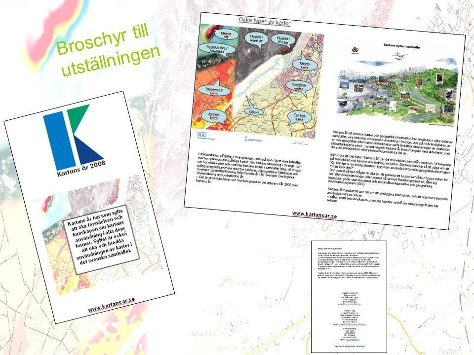 Broschyr till utställningen www.kartansar.se