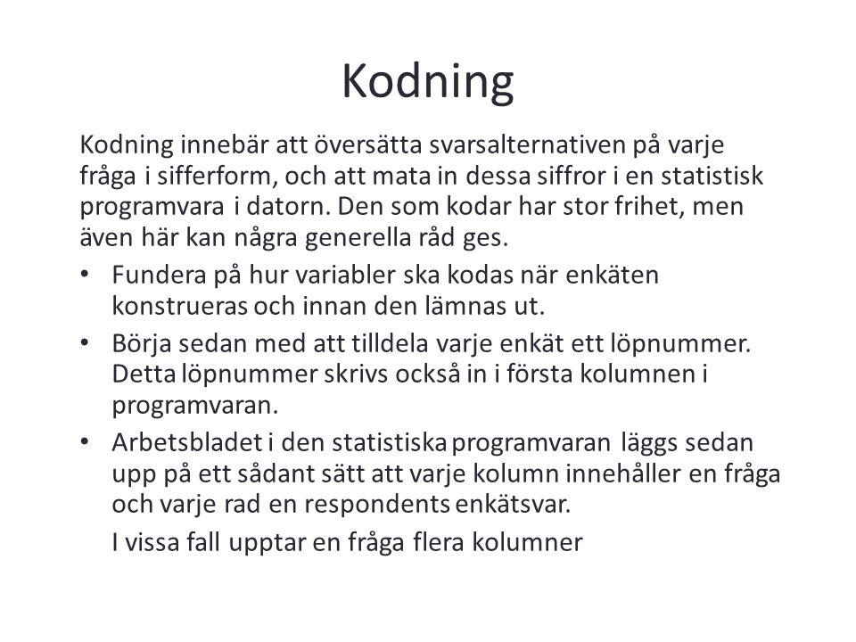 Kodning